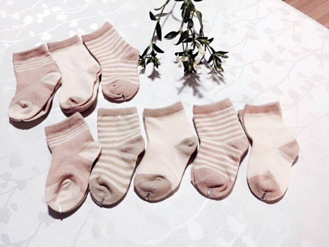 Real • Baby Organic Cotton Socks (6 Pairs)