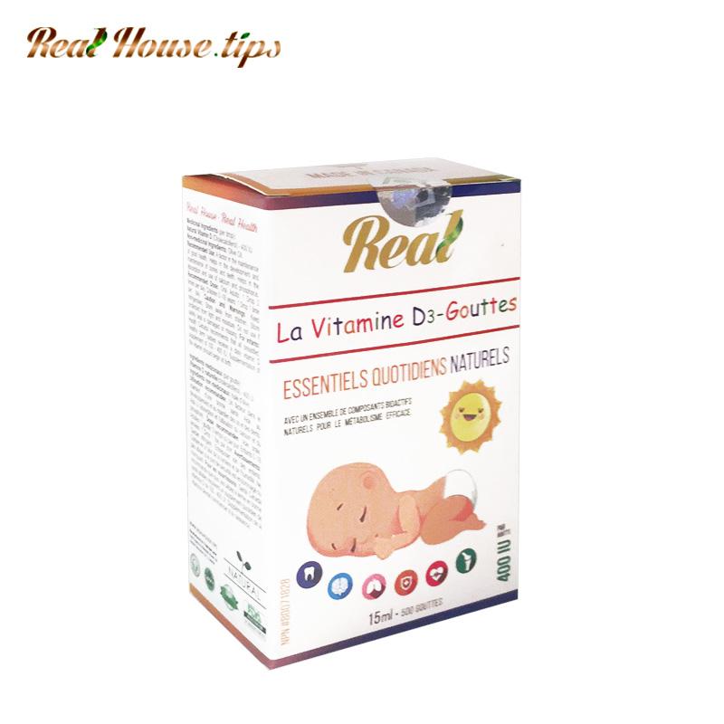 Real • Natural Bioactive Baby Vitamin D3 Drops