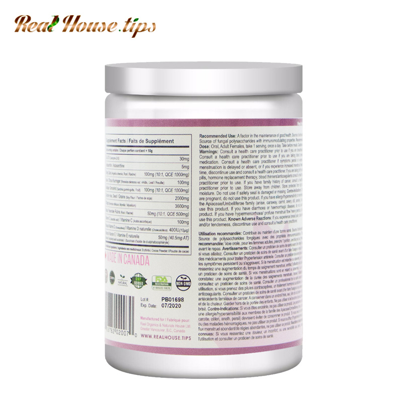 A bottle of Beauty Secret Slimming and Nourishing Powder, from Real House.