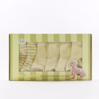 Real • Baby Organic Cotton Socks (6 Pairs)-0