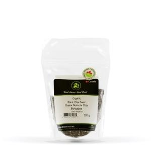 Real • Organic Black Chia Seed-0
