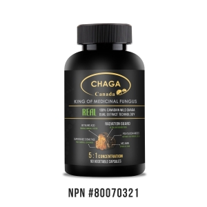 Real • Dual Extracted - Canadian Wild Chaga Capsules-0