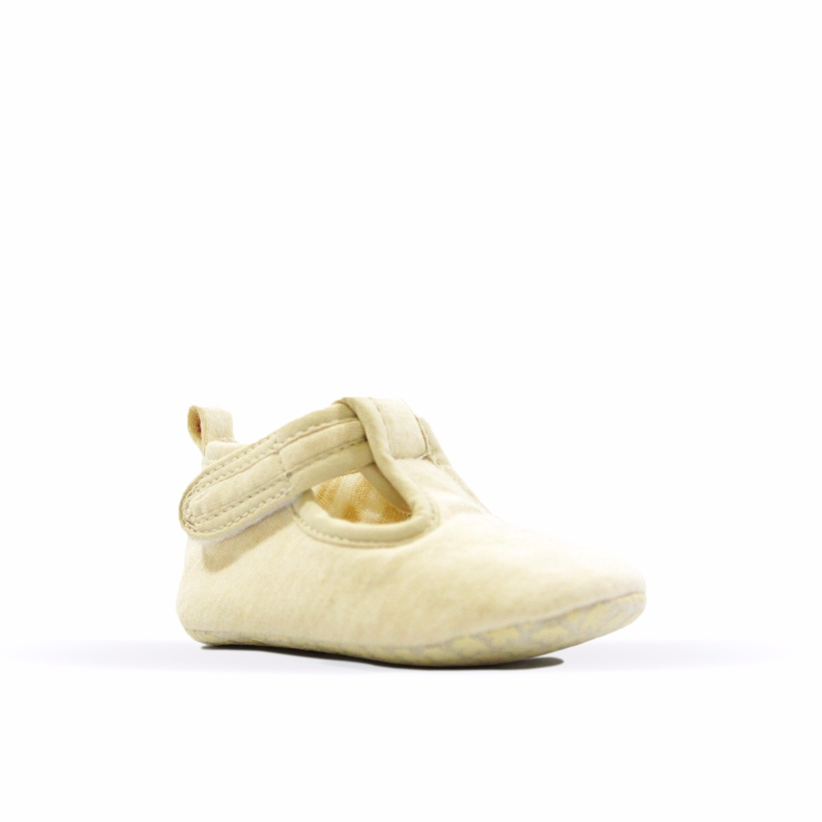 Real • Baby Organic Cotton Crawling T-Bar Flats