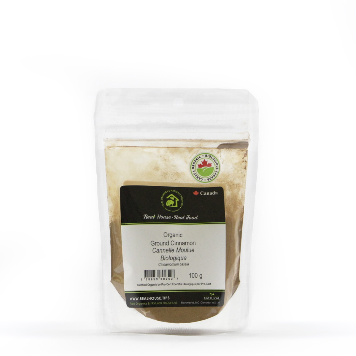 Real • Organic Ground Cinnamon-0