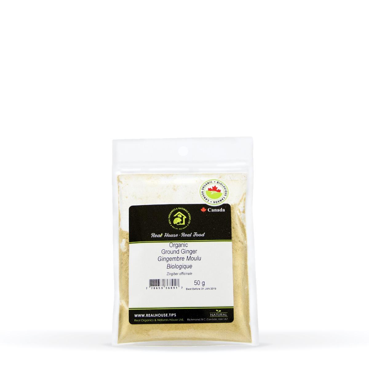 Real • Organic Ground Ginger-0