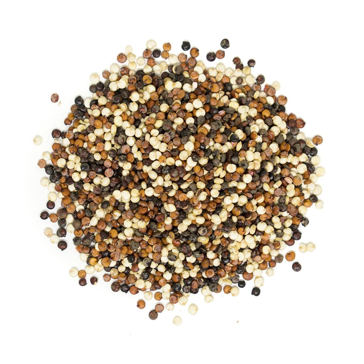 Real • Organic Tricolour Quinoa Grain-946