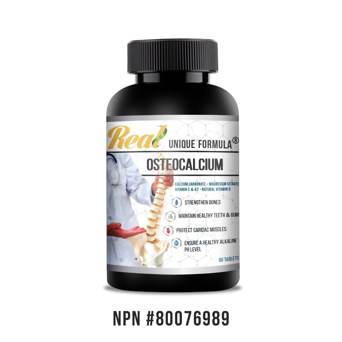 Real • Unique Osteocalcium Tablets-0