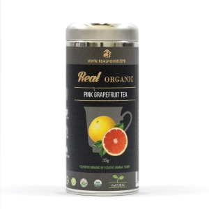Real • Organic Pink Grapefruit Flavor Tea-0