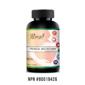 Real • Prenatal Multivitamin Tablets -0