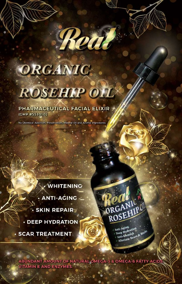 Real • Organic Rosehip Oil-856