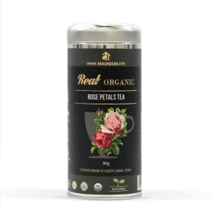 Real • Organic Red Rose Petals tea -0