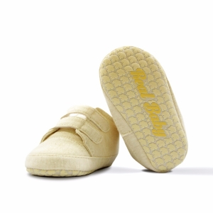 Real • Baby Organic Cotton Crawling Sneakers Size: 11cm & 12cm-0