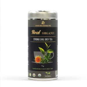 Real • Organic Strong Earl Grey Tea -0