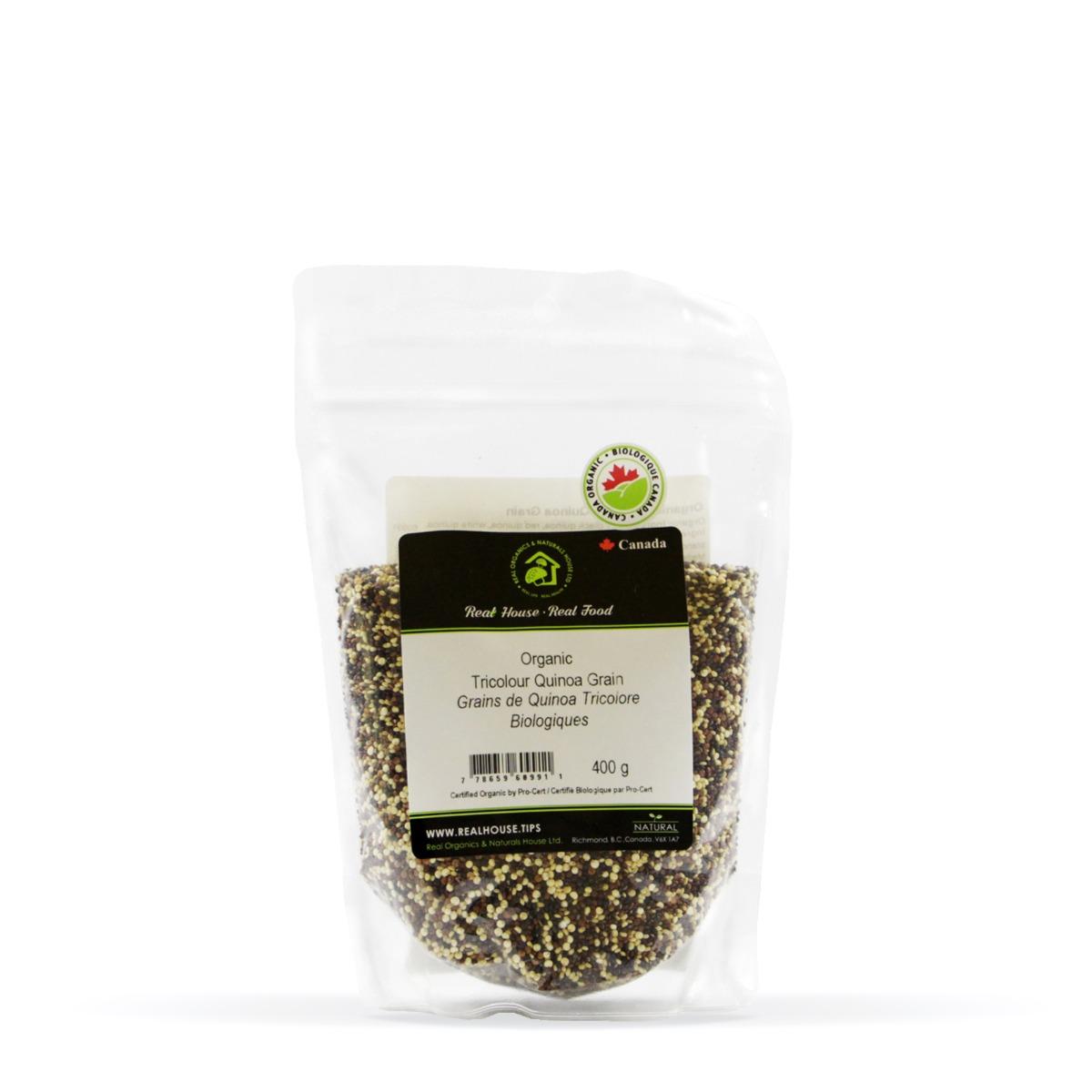 Real • Organic Tricolour Quinoa Grain-0