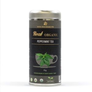 Real • Organic Peppermint Tea -0