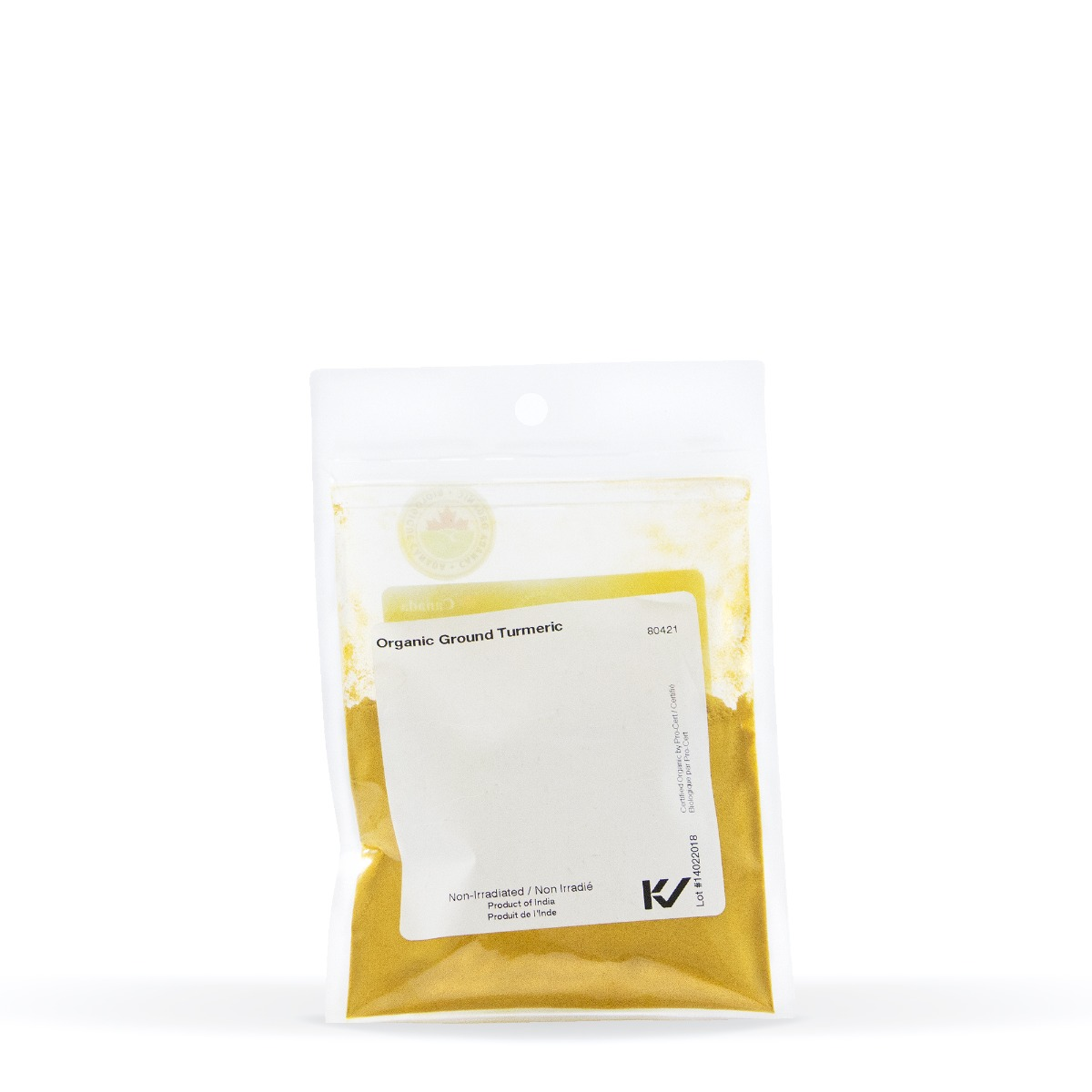 Nutritional Information About Real • Organic Ground Turmeric