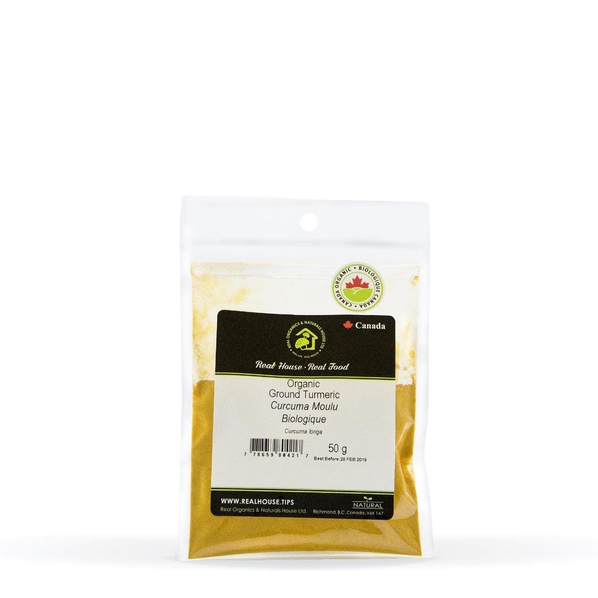 Real • Organic Ground Turmeric-0