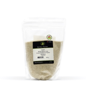 Real • Organic Whole Psyllium Husk -0